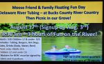 Family Fun Float Day and Picnic Aug 17th – Sign-up at Lodge